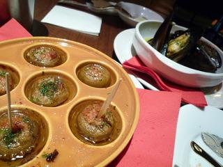 マッシュルームのガーリックオイル焼き