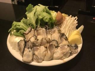 カキ味噌鍋