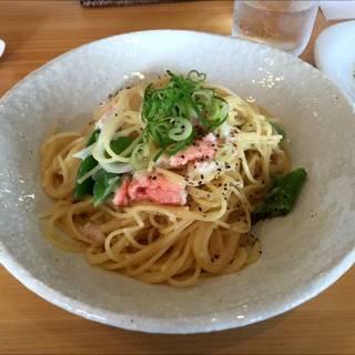 ズワイ蟹と野菜のクリームソース