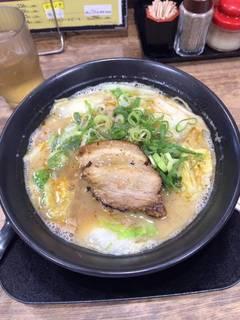 白菜炒め多めの山神醤油盛り!
