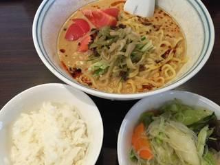 冷し担々麺LUNCH