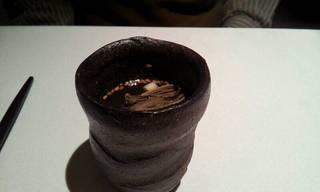 毛蟹のコンソメ