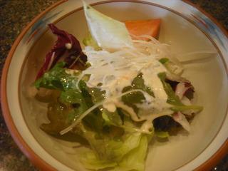 レタスと大根のサラダ