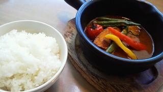 いろいろ野菜たっぷりのスープカレー