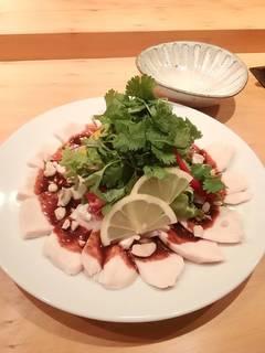 蒸し鶏の香味野菜 サラダ仕立低温調理