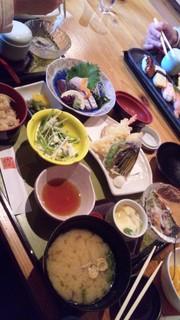 お昼の定食