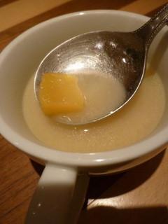 安納芋のスープ