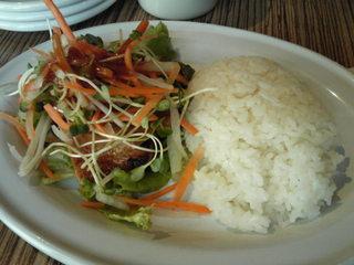 韓国風豚肉ライス