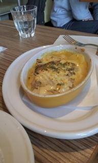 スズキと白菜のチーズカレーグラタン