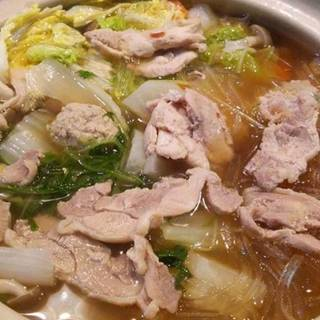 上州軍鶏のきのこ軍鶏鍋