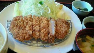 富士桜ポークのかつ定食
