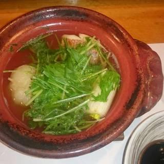 鯛と野菜の小鍋