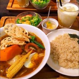 14種の野菜スープカレー
