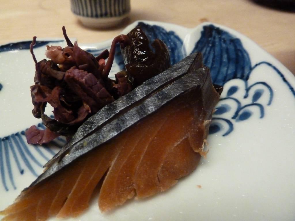 鯛茶漬け(2)