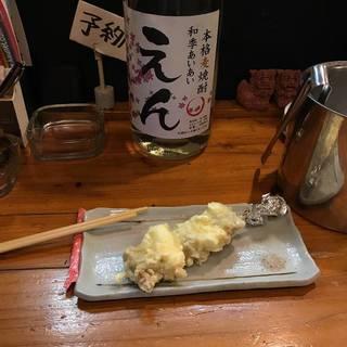マグロねぎま天ぷら