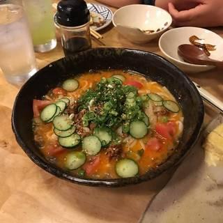 稲庭風うどん担々麺