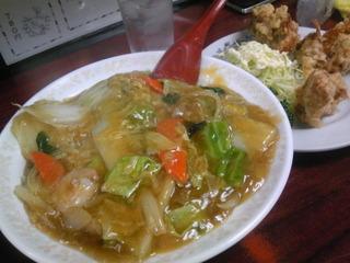 中華丼のセット