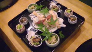 野草と野菜とお魚のコース(昼)