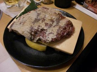 厚切りハラミステーキ