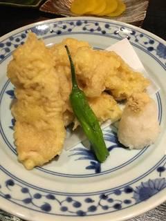 山形さくらんぼ鶏の天ぷら
