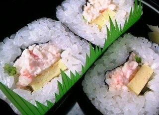 本タラバかに太巻寿司
