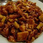 鶏肉と筍の唐辛子炒め