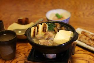 信州黄金シャモ水炊き