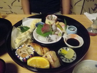 お弁当と寿司ランチ