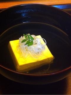 すっぽん豆腐のお椀
