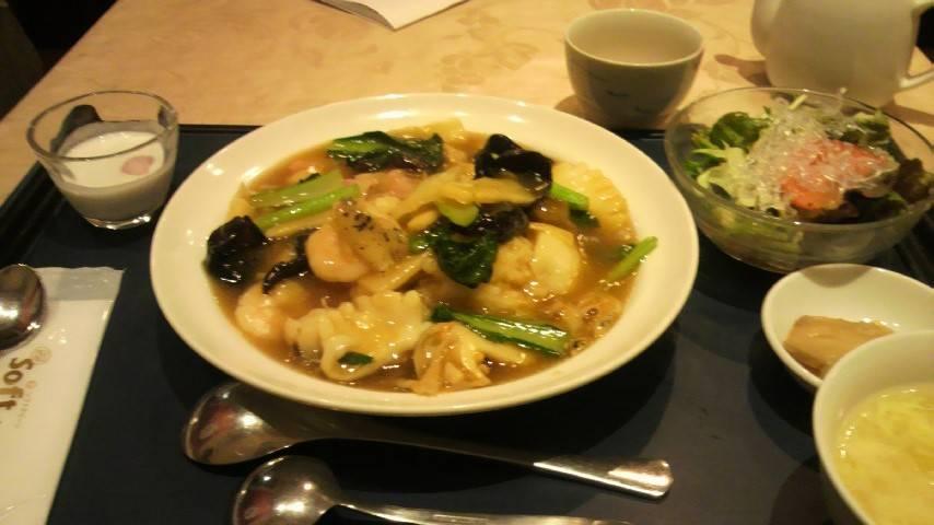 海鮮中華丼