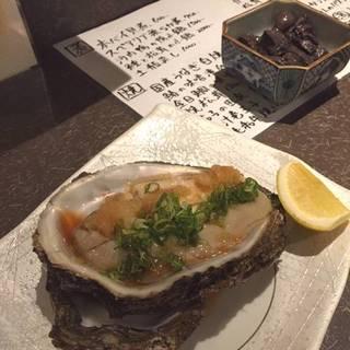 特大岩牡蠣ポン酢