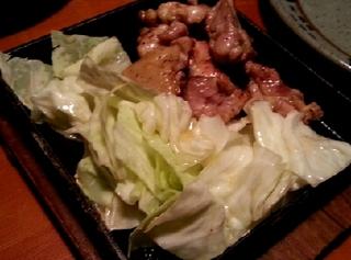 鶏の鉄板焼き 大盛り(220g)