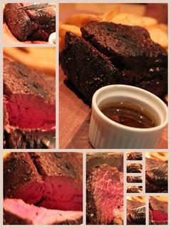 牛ハラミの塊肉グリル