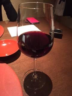 フリードリンクの赤ワイン
