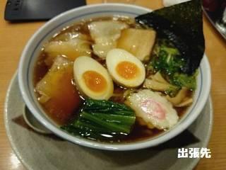 生姜醤油味玉麺