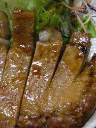 豚ロース味噌漬焼
