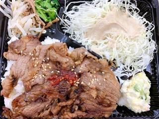 肉キャベ弁当