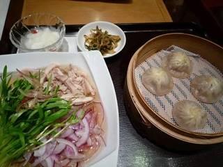 冷製鶏スープ麺セット