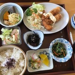 エビフライ定食 750円