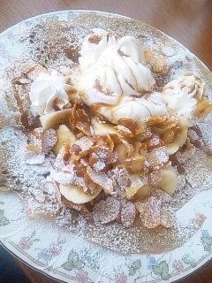 ガレット バナナキャラメル