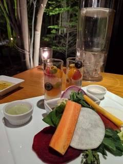 お野菜のサラダ