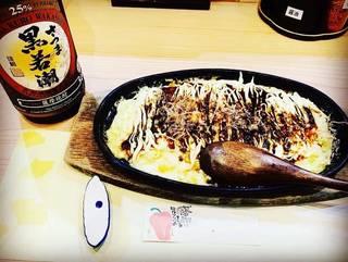 山芋チーズ鉄板