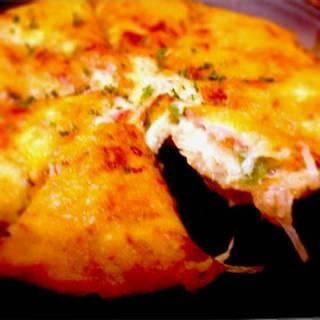 ジャガイモのピザ風チーズ焼
