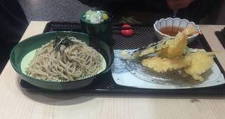 海老天ぷら ざる蕎麦セット