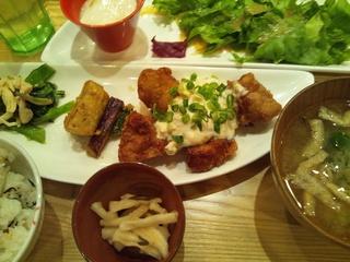 味噌タルタル定食