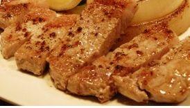 キングポークのステーキ