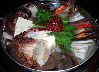 海産物の鍋