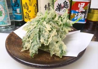明日葉の天ぷら