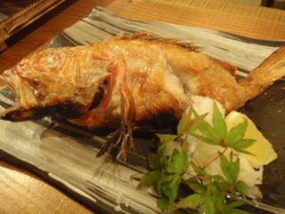 本日の魚の塩焼き