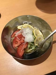 レモン冷麺